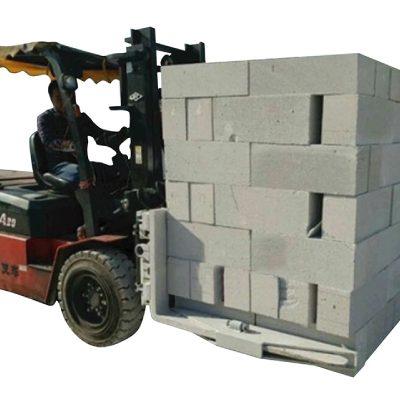 Гидравлический грузоподъемный зажим для бетонных блоков