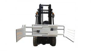 Эффективный гидравлический поворотный зажим для вилочного погрузчика