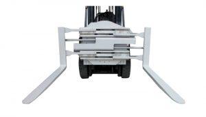 Вращающийся вилочный зажим для вилочного погрузчика класса 2 длиной 1220 мм